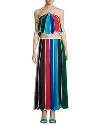 Rosie Assoulin | Blue Umbrella Halter Top | Lyst