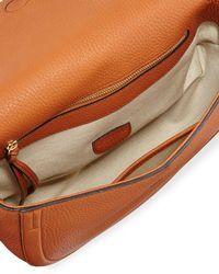 Altuzarra - Brown Ghianda Small Woven Knot Saddle Bag - Lyst