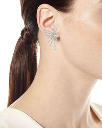 Fallon - Metallic Monarch Firework Fan Earrings - Lyst