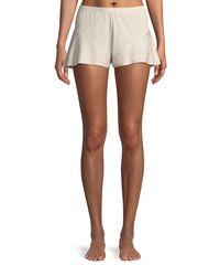 Skin - Pink Lorna Pima Cotton Lounge Shorts - Lyst