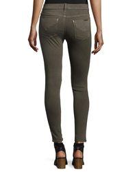 Hudson - Green Nico Mid-rise Super Skinny Jeans - Lyst
