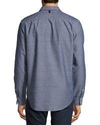Rag & Bone - Blue Beach Button-front Shirt for Men - Lyst