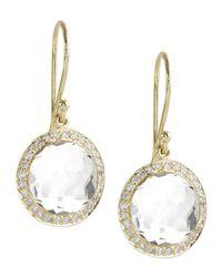 Ippolita - Metallic Mini Lollipop Diamond Earrings - Lyst