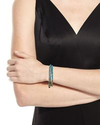 Armenta Multicolor Old World 18k Beaded Wrap Bracelet