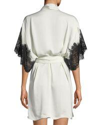 Natori Multicolor Lamour Short Robe