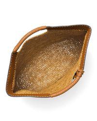 Michael Kors Brown Xl Market Raffia Tote Bag