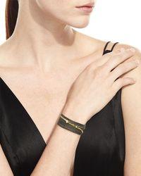 Armenta | Black Old World Multi-chain Bracelet With Diamonds | Lyst
