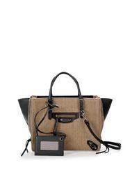 Balenciaga - Natural Papier A4 Linen Tote Bag - Lyst