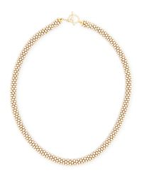 Meredith Frederick | Metallic Leonore 14k Gold Bead Necklace | Lyst