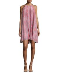 Rebecca Taylor | Multicolor Amanda Sleeveless Floral Shift Dress | Lyst