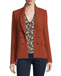 Veronica Beard - Brown Peninsula Pique Jacket - Lyst