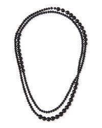 Eskandar - Black Paixubao & Acai Seed Necklace - Lyst