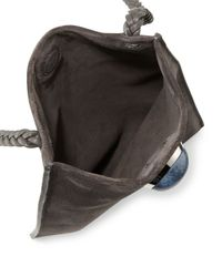 The Row - Multicolor Small Suede Medicine Pouch Bag - Lyst