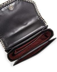 Stella McCartney - Black Falabella Box Bird Shoulder Bag - Lyst