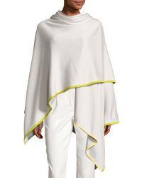 Loro Piana   Gray Madison Rainbow Summer Jersey Cashmere-blend Wrap   Lyst