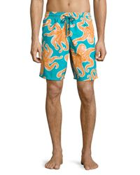 Vilebrequin   Multicolor Okoa Octopus-print Swim Trunks for Men   Lyst