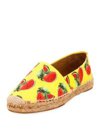 Dolce & Gabbana | Multicolor Ananas Espadrilles | Lyst