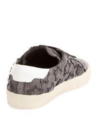 Saint Laurent - Multicolor Court Classic Denim Low-top Sneaker - Lyst