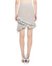 Altuzarra - White Tome Cherry-print Skirt - Lyst