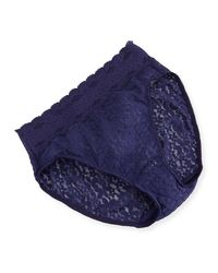 Wacoal | Blue Halo Lace High-cut Briefs | Lyst