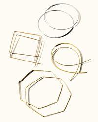 Lana Jewelry - Metallic Flat Magic Hoops - Lyst