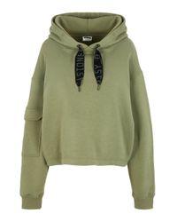 Noisy May Green Langärmeliges Sweatshirt