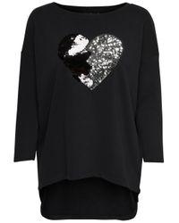 ONLY Black Lockeres Sweatshirt