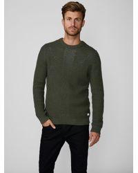 Produkt Crew Neck Sweater in het Green voor heren