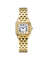 Cartier - Panthère Small Yellow Gold & Diamonds - Lyst