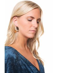 bevello - Multicolor Simple Twist Earring - Lyst
