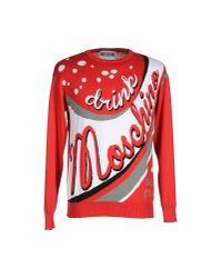 Moschino Couture | Red Jumper for Men | Lyst