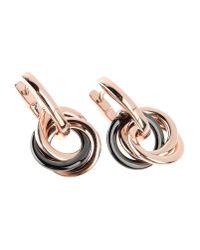 Emporio Armani - Metallic Earrings - Lyst