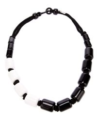 Antonella Filippini | Black Monochrome Beaded Necklace | Lyst
