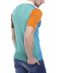 Vivienne Westwood - Multicolor Colour Block Polo Shirt for Men - Lyst