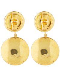 Larkspur & Hawk Yellow Topaz Olivia Drop Earrings