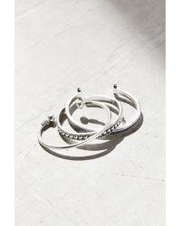 Urban Outfitters | Metallic Festival Cuff Bracelet Set | Lyst