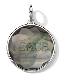 Ippolita | Metallic Sterling Silver Carved Intaglio Peace Charm | Lyst