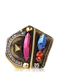 Iosselliani - Multicolor Deco Ring - Lyst