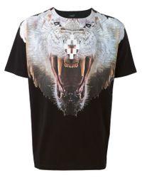 Marcelo Burlon - Black Walrus Print T-shirt - Lyst