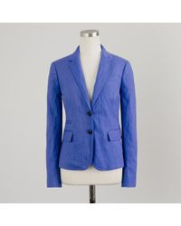 J.Crew | Blue Classic Schoolboy Blazer In Herringbone | Lyst