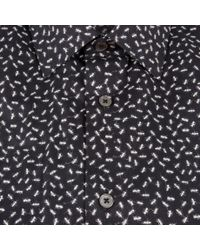 Paul Smith - Men's Black 'ants' Print Shirt for Men - Lyst