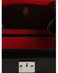 Mark Cross Black 'grace' Box Clutch