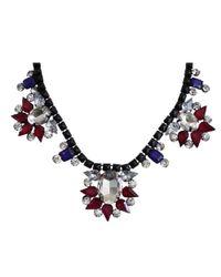 Ziba | Purple Aida Necklace | Lyst