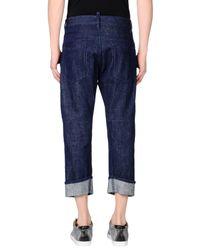 DSquared² Blue Denim Trousers for men