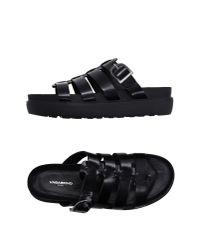 Vagabond - Black Sandals - Lyst