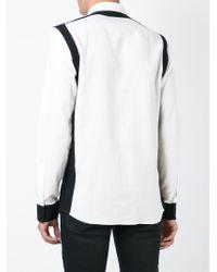 Balmain Black Two-tone Shirt for men