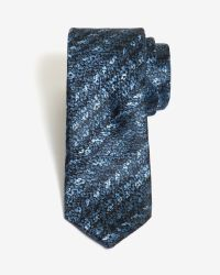 Ted Baker - Blue Textured Weave 5.5cm Tie for Men - Lyst