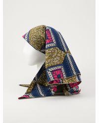 Stella Jean Multicolor Palma Headpiece