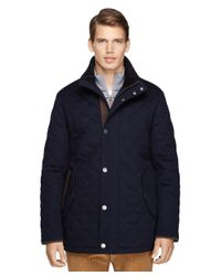Brooks Brothers | Blue Quilted Wool Jacket for Men | Lyst