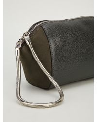 Alexander Wang Green 'chastity' Make-up Pouch